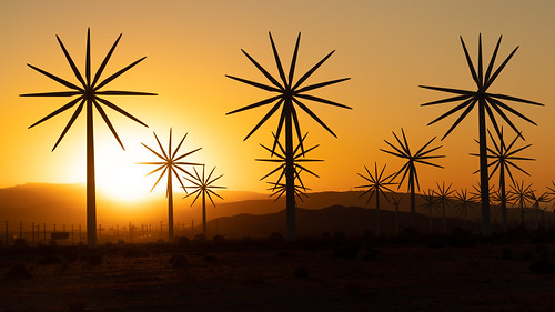 sunrise windmills palm springs windmill