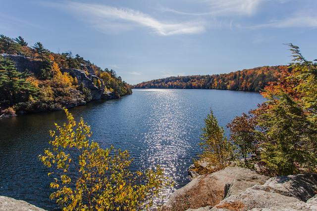 Fall Sunlight On Lake Minnewaska  *Explore*