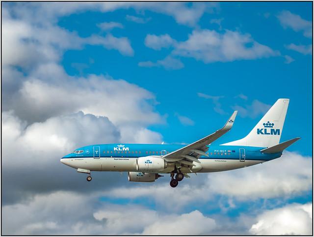 Boeing 737-700 -7K2 (WL) KLM PH-BGT_2 at LED