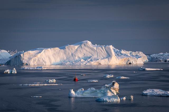 Disko Bay, Groenland