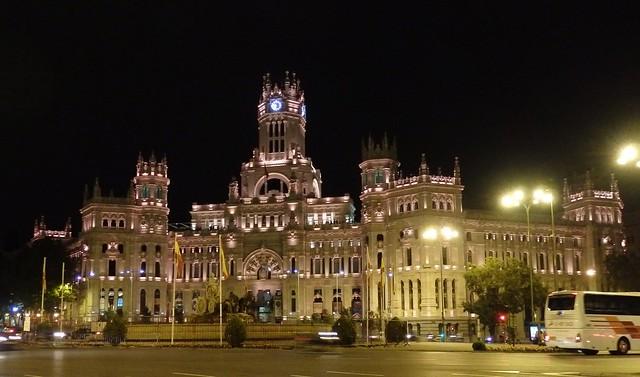 Ayuntamiento de Madrid - Nocturna.