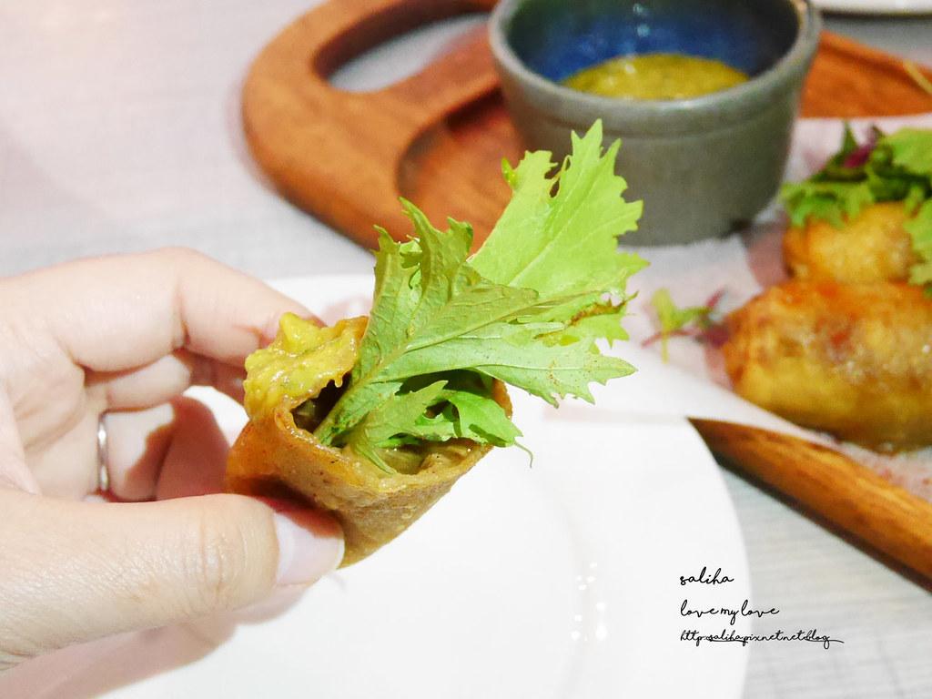 台北HIVE巢餐廳信義區市政府站逸仙路附近藍帶義大利麵排餐約會 (4)