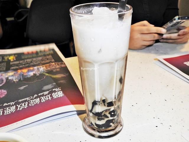 Grass Jelly In Coconut Milk