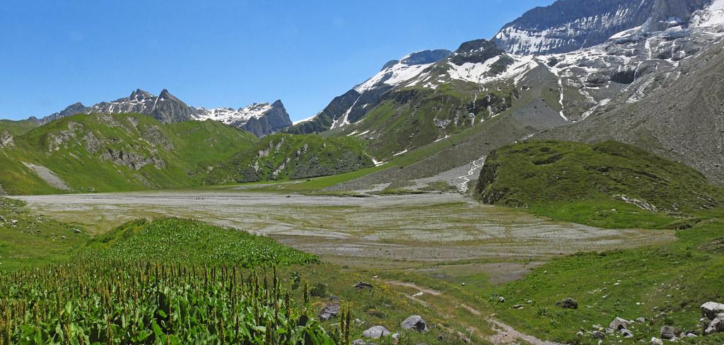 Le lac de la Glière