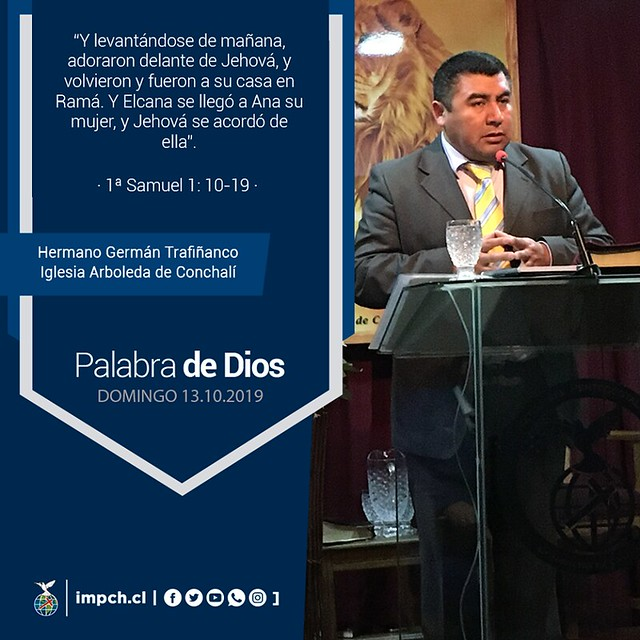 Palabra de Dios   Domingo  13 de Octubre 2019