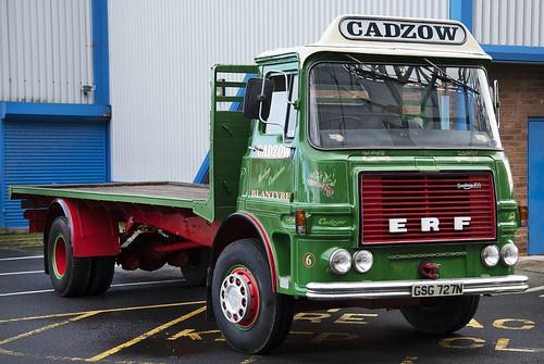 ERF LV/A truck Cadzow, at Burnley HEMS 2019