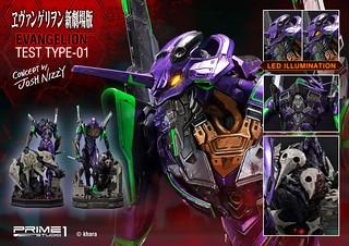 Prime 1 Studio《福音戰士 新劇場版》汎用人型決戰兵器 Evangelion(エヴァンゲリオン)初號機 EX版 雕像作品
