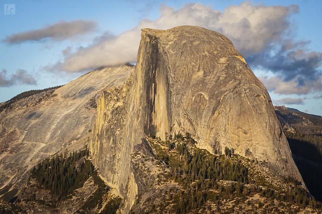 Half Dome - A Glazier Point View 1
