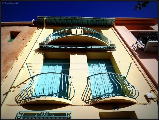 Les étages d'une maison Colliourencque