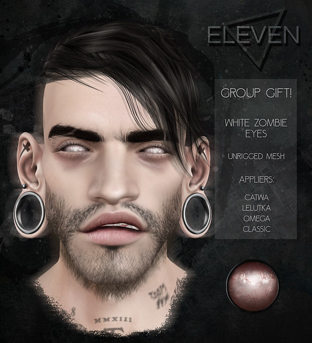 ELEVEN - White Zombie Eyes GROUP GIFT