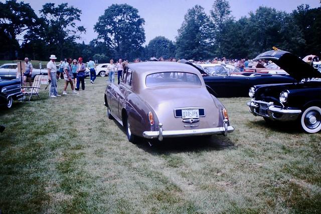 Found Photo - Classic Car Show