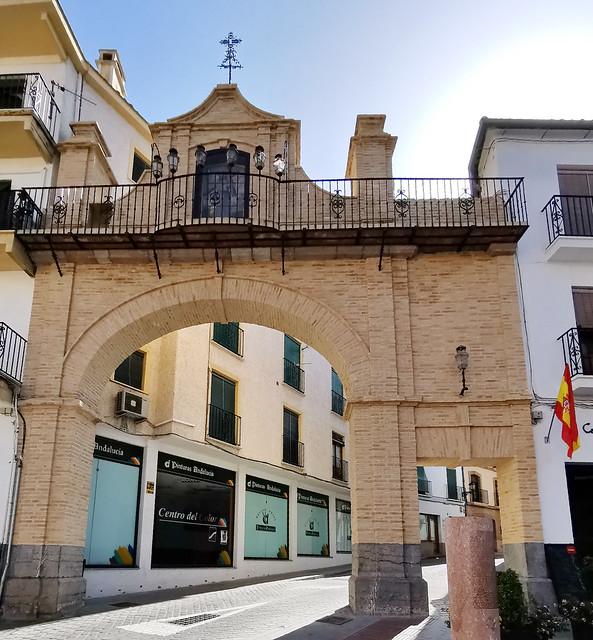 Arco Plaza de San Sebastian Antequera Malaga
