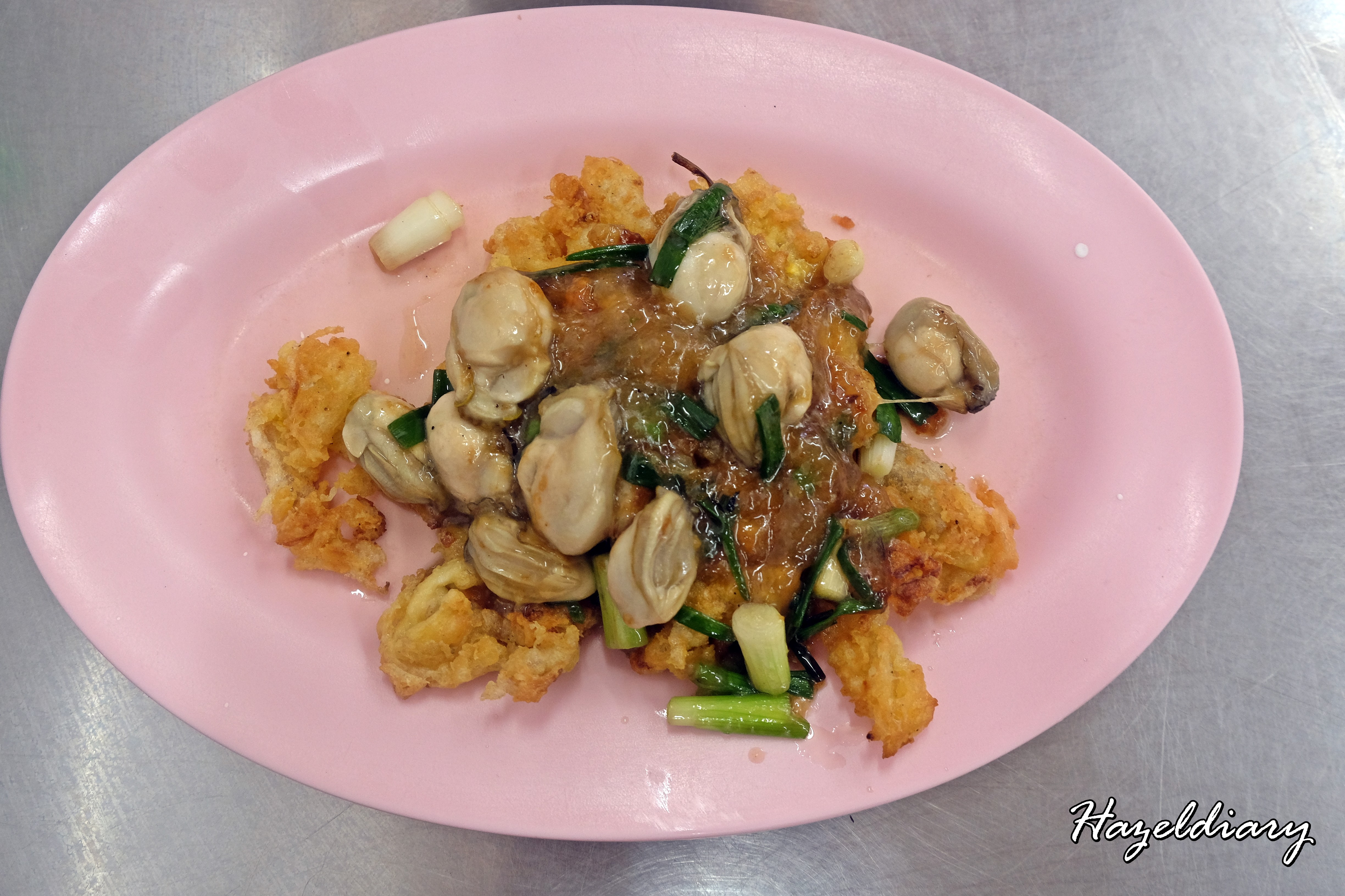 Nai Mong Hoy Tod -Oyster Omelette