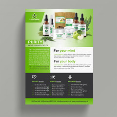 PRODUCTS FLYER DESIGN