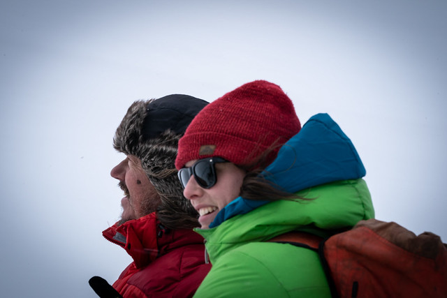 Svante Thunberg and Caroline Aubry-Wake