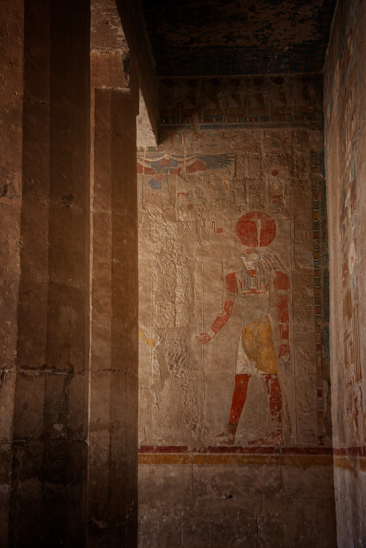 Horus At Hatshepsut's Temple