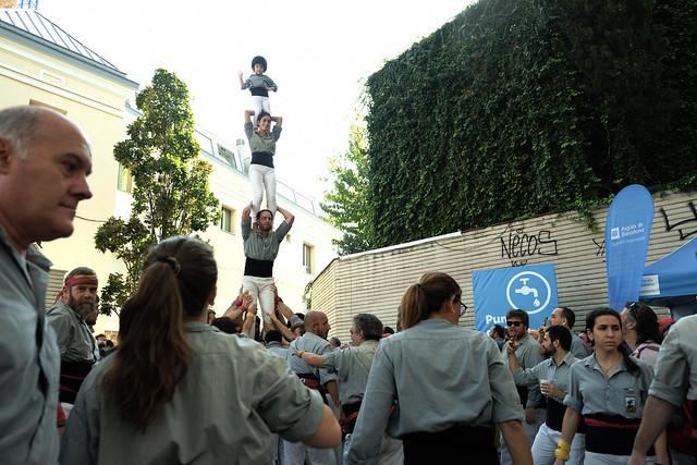 XXVI Diada dels Castellers de Sants, 20 d'Octubre de 2019, Barcelona