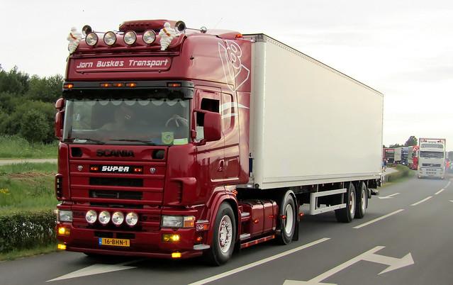 Scania 164 Buskes Noordwolde (FR)