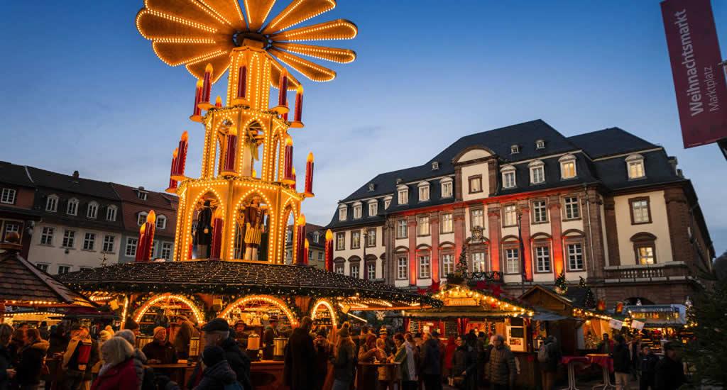 Kerstmarkt in Heidelberg | Mooistestedentrips.nl