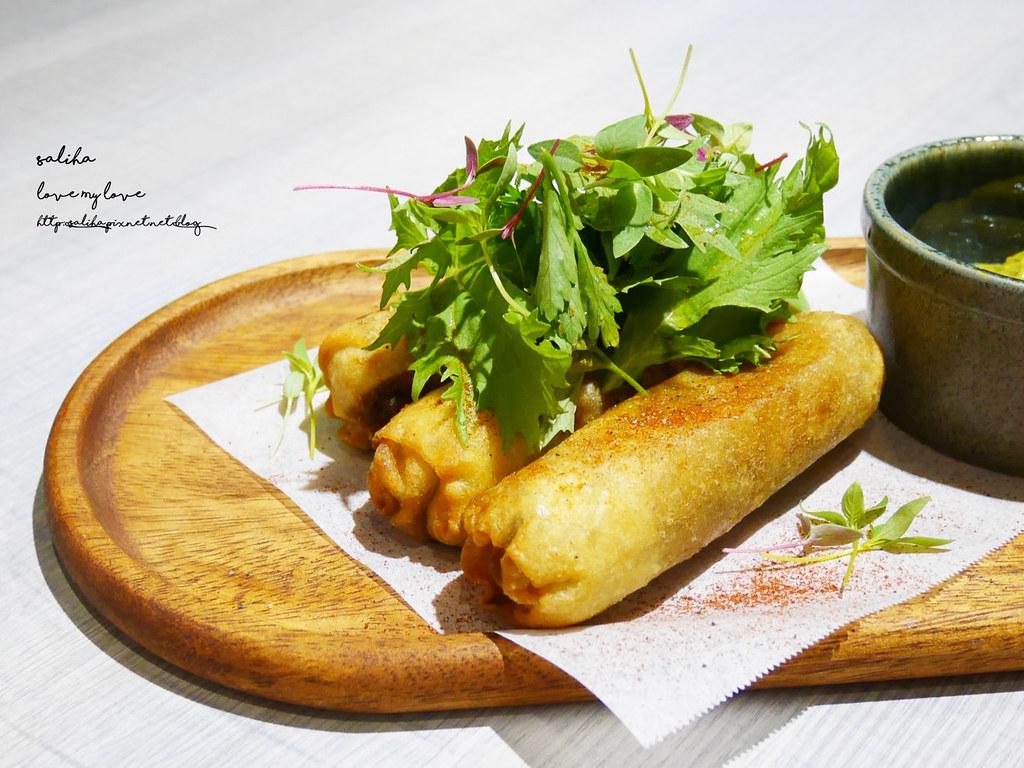 台北HIVE巢餐廳信義區市政府站逸仙路附近藍帶義大利麵排餐約會 (2)