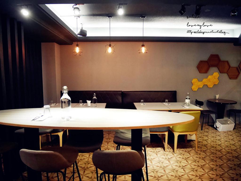台北信義區捷運市政府站HIVE巢餐廳平價約會情人節排餐義大利麵 (6)