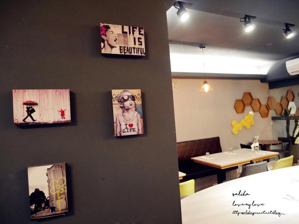 台北信義區捷運市政府站HIVE巢餐廳平價約會情人節排餐義大利麵 (5)