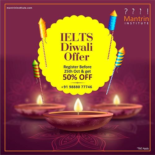 50% off on registration for IELTS