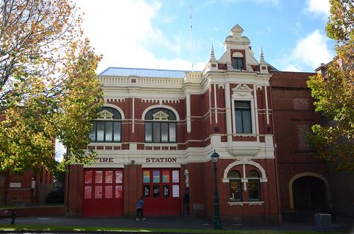 firestation bendigo heritage history historic victoria australia architecture