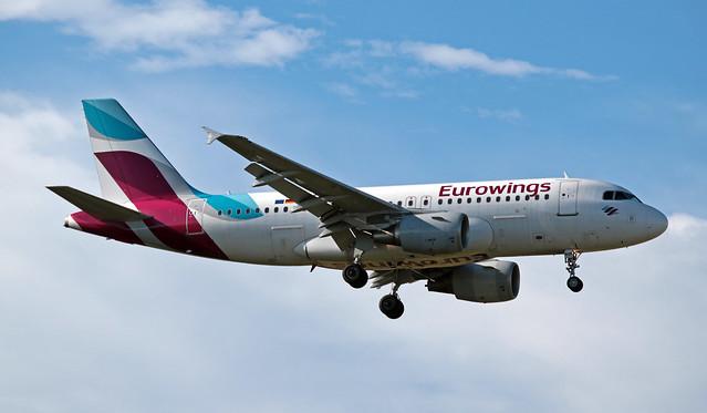 D-ABGR EGLL 06-07-2019 Eurowings Airbus A319-112 CN 3704