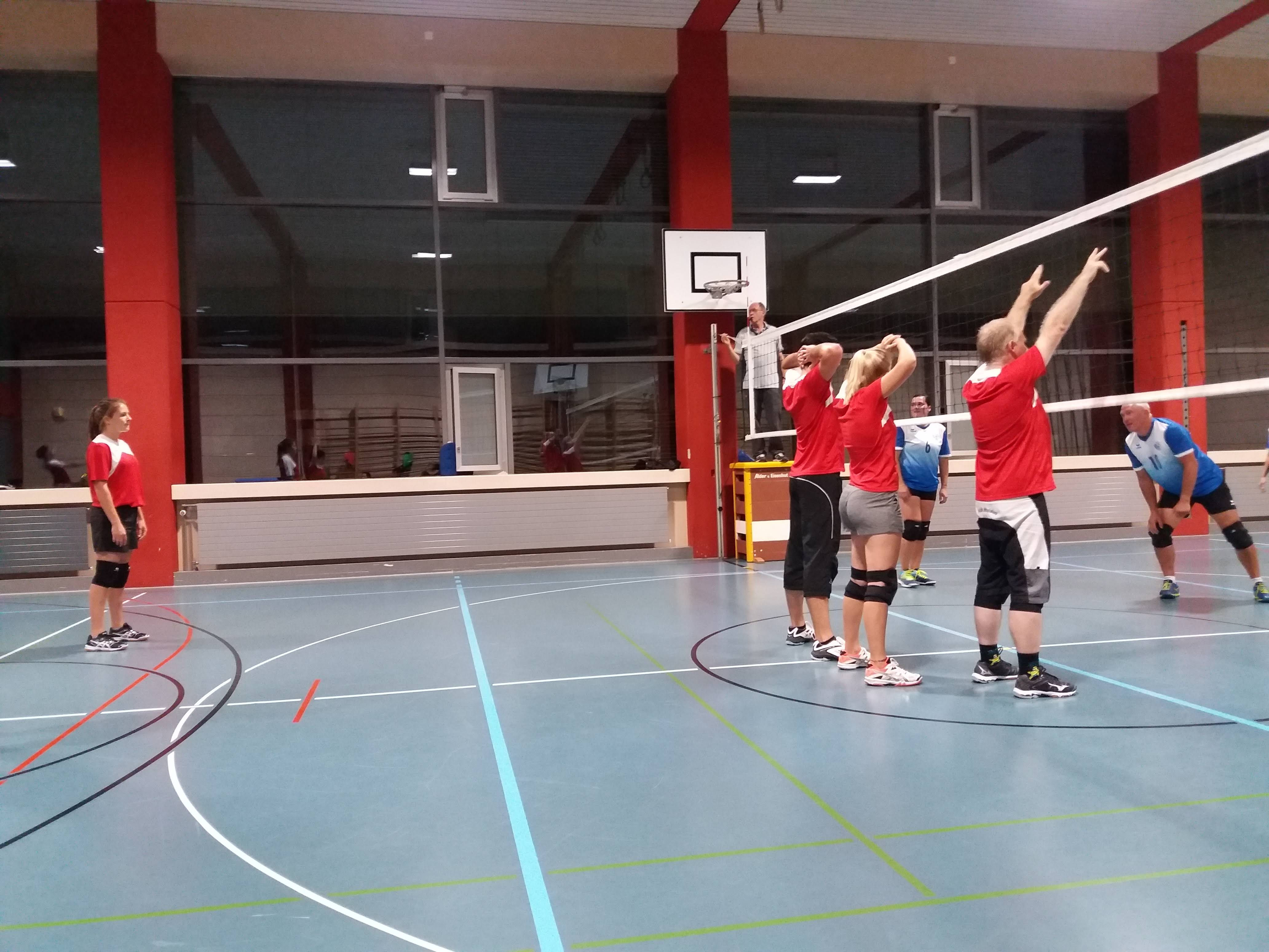Cupspiel Volley Seetal Mixed