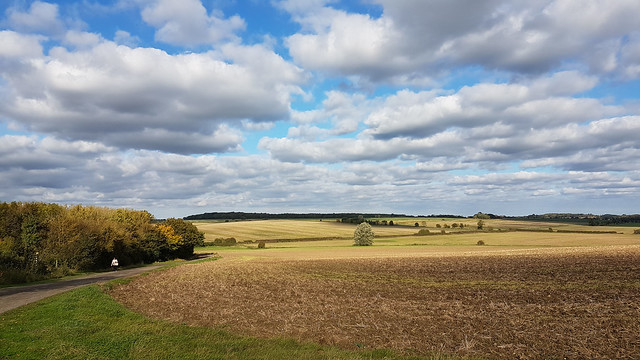 Rolling countryside of Northamptonshire
