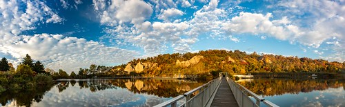 Bluffs Reflections Panoramic