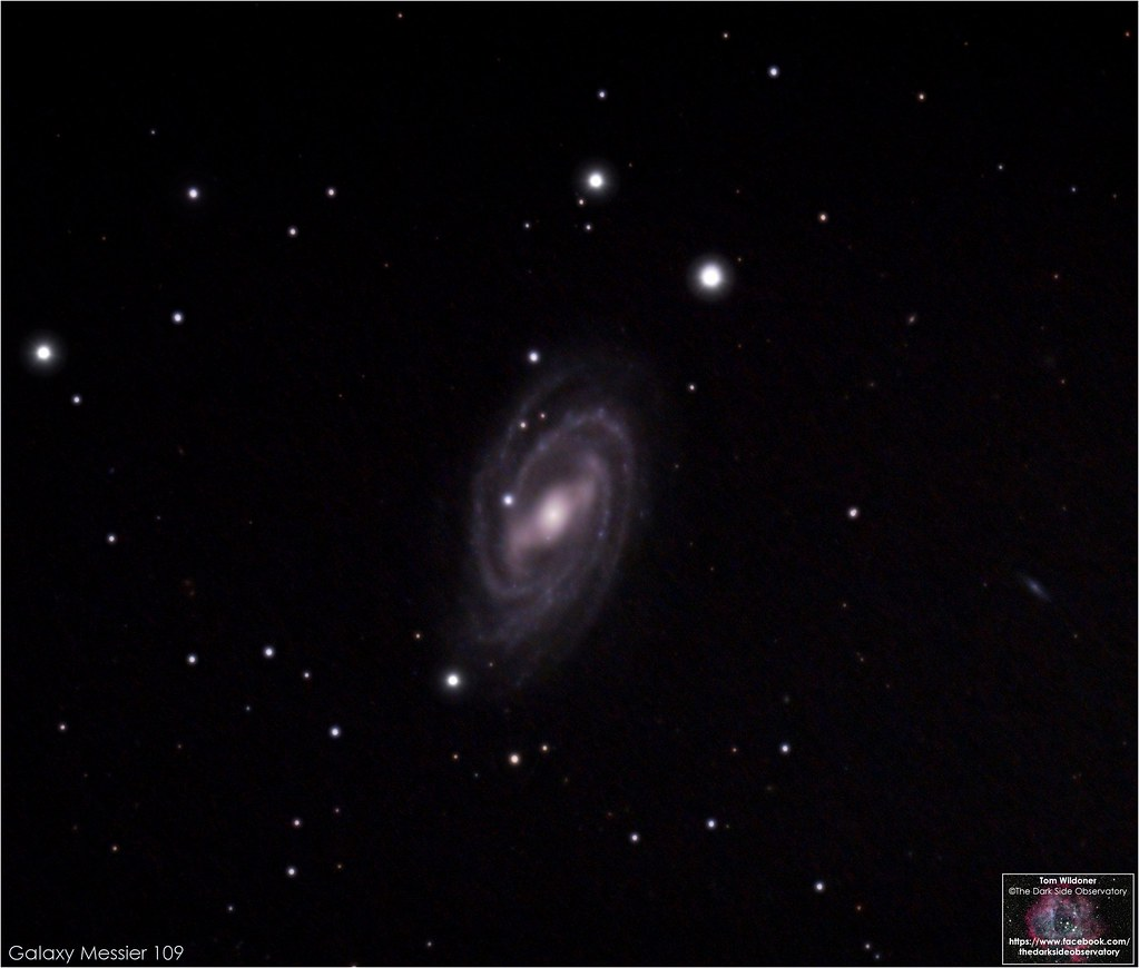 M109 in Ursa Major | Messier 109 (NGC 3992) is a barred spir… | Flickr