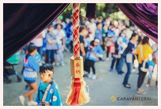 大目神社のお祭り(愛知県瀬戸市) 毎年10月の第2日曜日