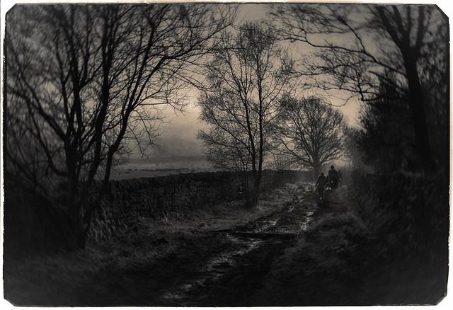 Walking in Muddy Lane