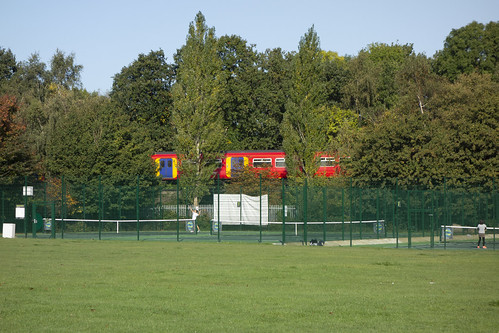 Tennis Courts by Railway, Beverley Park