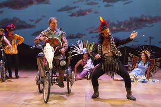 Emilio Delgado and Huge E. Carbajal in Quixote Nuevo
