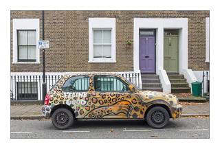 The Built Environment, East London, England.