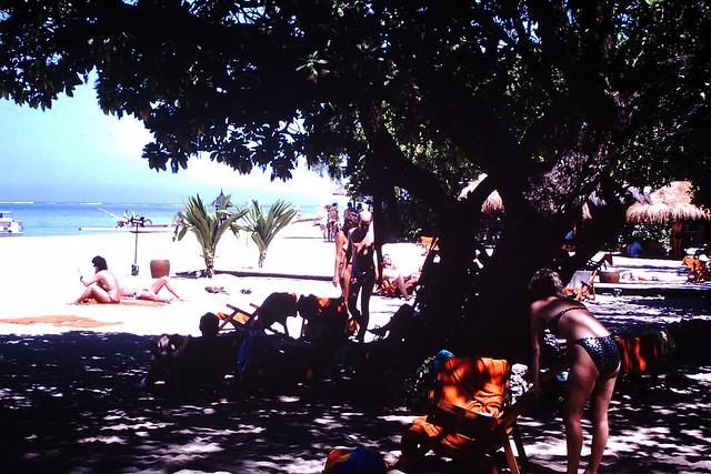 Found Photo - Beach 1978