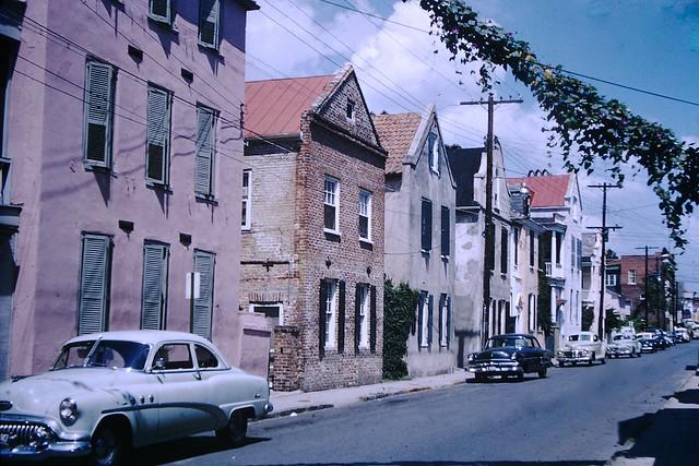 Found Photo - Charleston, SC , 1955