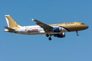 A9C-AI - Gulf Air - Airbus A320-214