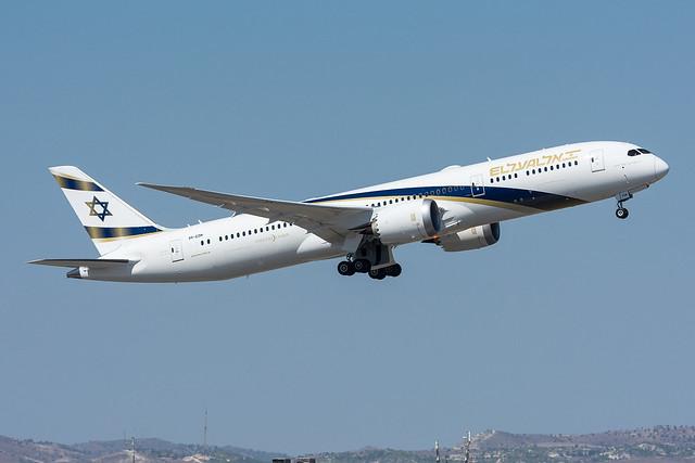 4X-EDM - El Al Israel Airlines - Boeing 787-9 Dreamliner -