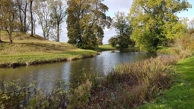 Water Gardens at Lyveden, Northants