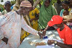Verifying the beneficiary's identity