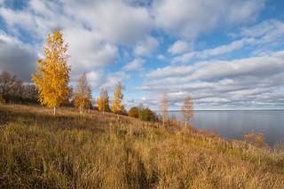 Autumn on Lake Ilmen