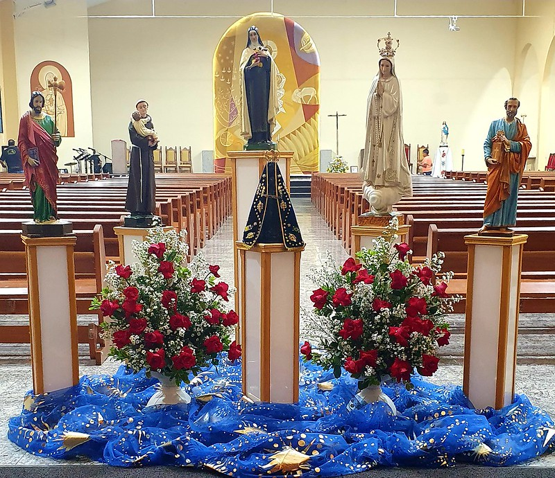 Forania Imaculada realiza peregrinação pelo Mês Extraordinário Missionário