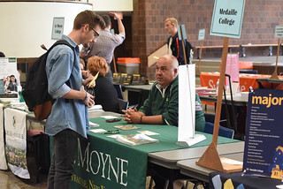 Tue, 10/02/2018 - 11:50 - Photograph from a prior Transfer Student Fair, courtesy of GCC