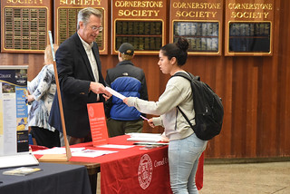 Tue, 10/02/2018 - 11:54 - Photograph from a prior Transfer Student Fair, courtesy of GCC