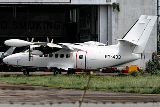 Private Operator - Let L-410UVP-E20 Turbolet / EY-433 @ Clark