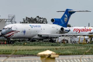 PSI Air - Boeing 727-227(Adv)(F) / RP-C7110 @ Clark